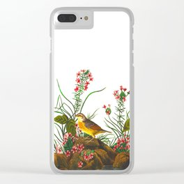 Yellow-winged Sparrow Clear iPhone Case