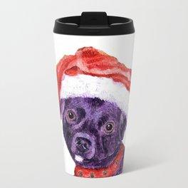 Christmas Chihuahua By Annie Zeno Travel Mug