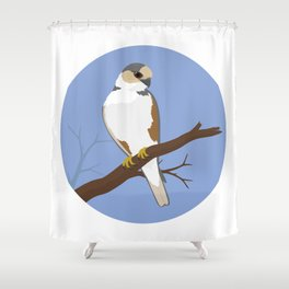 Pearl Kite Shower Curtain