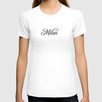 milan T-shirts featuring Milan by Blocks & Boroughs