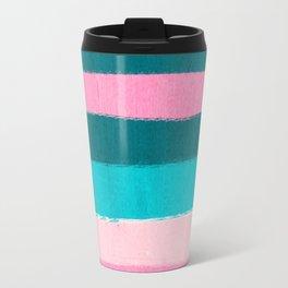 Holden - abstract painting minimal brushstrokes painterly boho modern trendy girly art Travel Mug
