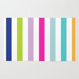 Big Bright Stripes Rug