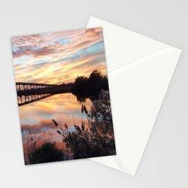 Sunset Over Pungo Ferry Bridge Stationery Cards