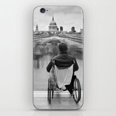 Invisible, Millennium Bridge, London iPhone & iPod Skin