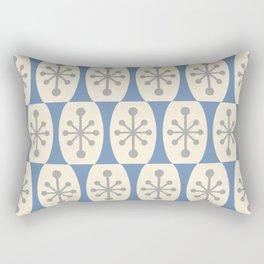 Mid Century Modern Atomic Fusion Pattern 105 Rectangular Pillow