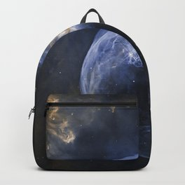 Bubble Nebula in Cassiopeia constellation. Backpack