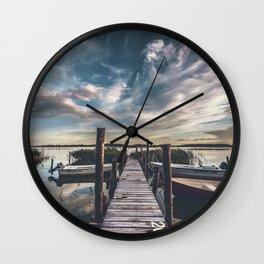 Vanity II Wall Clock