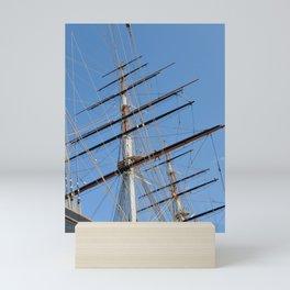 Cutty Sark Sails Mini Art Print