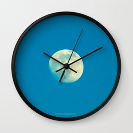 Clearly Grandmother Moon by Jeronimo Rubio Photography 2016 (all over) Wall Clock