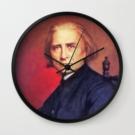 Franz Liszt, Music Legend Wall Clock
