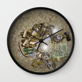 Jewelry: Lost and Found Photo Wall Clock