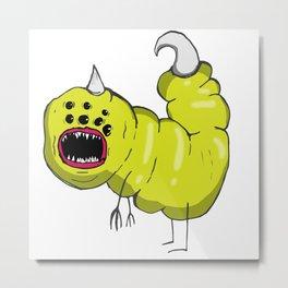Slug Metal Print