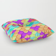 Scales Floor Pillow
