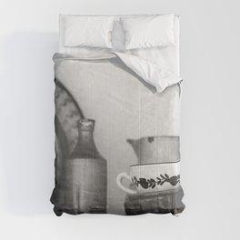 Pottery still life Comforters