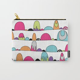 Mid Century Patterns and Illustration Carry-All Pouch