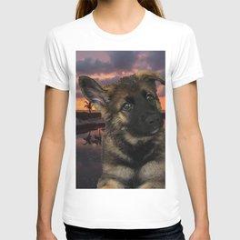 Loki German Shepherd T-shirt