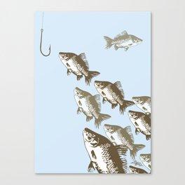 The Smart Fish Canvas Print