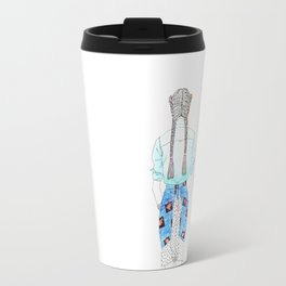 Maya girl Travel Mug