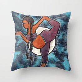 Full Moon Dancer Throw Pillow