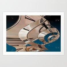Time Warp 2 Art Print