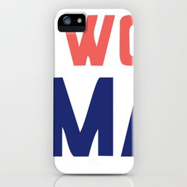 Women March On Washington 2017 Official iPhone Case