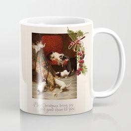Pet Lover Christmas Greeteengs Coffee Mug