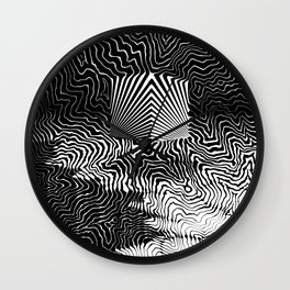 Awaiting the Abyss Wall Clock