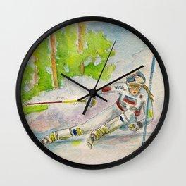 Lindsey Vonn_ Ski Racer Wall Clock