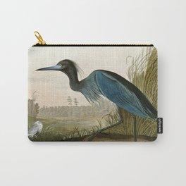 Little Blue Heron - John James Audubon's Birds of America Print Carry-All Pouch