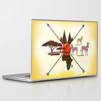 africa Laptop & iPad Skins featuring Africa by famenxt