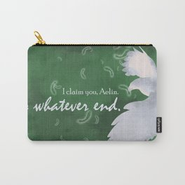 To Whatever End (Green) Carry-All Pouch