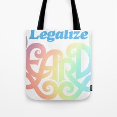 Legalize Beards Tote Bag