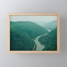 New River Gorge Wilderness Framed Mini Art Print