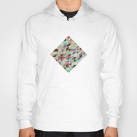 triangle Hoodies featuring Triangle by Crazy Thoom