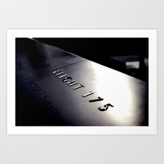 Flight 175 Art Print