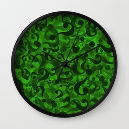 Riddler Wall Clock
