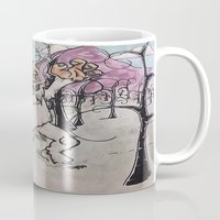yeti Mugs featuring Yeti by doombotseven