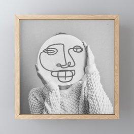 lfFl (good morning) Framed Mini Art Print
