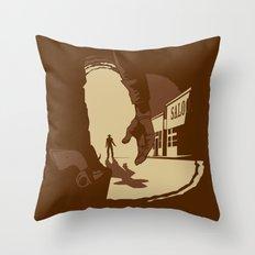 Showdown Throw Pillow