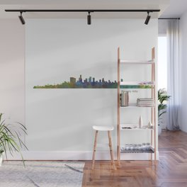 Beverly Hills City in LA City Skyline HQ v1 Wall Mural