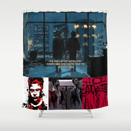 Where Is My Mind?? Shower Curtain