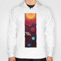 solar system Hoodies featuring Solar System by badOdds
