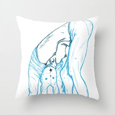 Girl 4 Throw Pillow