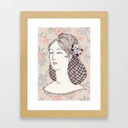 Lady II Framed Art Print