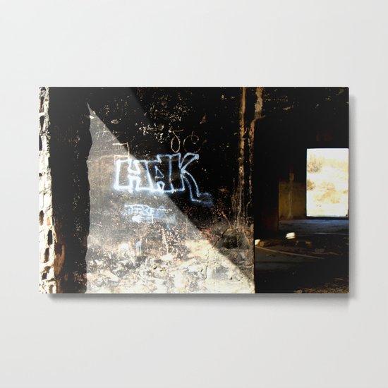 HAK Metal Print