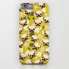 Cute Pug Dog iPhone Case