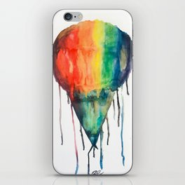RAINBOW SOWBALL iPhone Skin