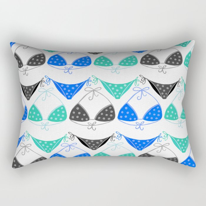 Bikini Collection #2 Rectangular Pillow