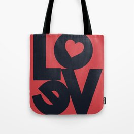 Love illustration, wall art, gift for couples, present for him, for her, Valentine's Day Tote Bag