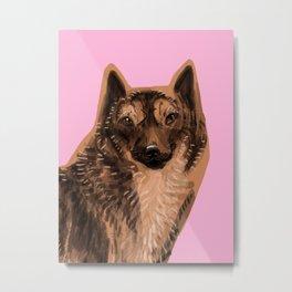 Kai Ken ( Tiger dog) Metal Print